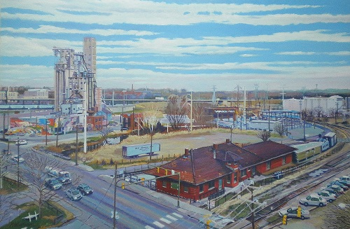 'View from June's Studio' by Bob Carlson
